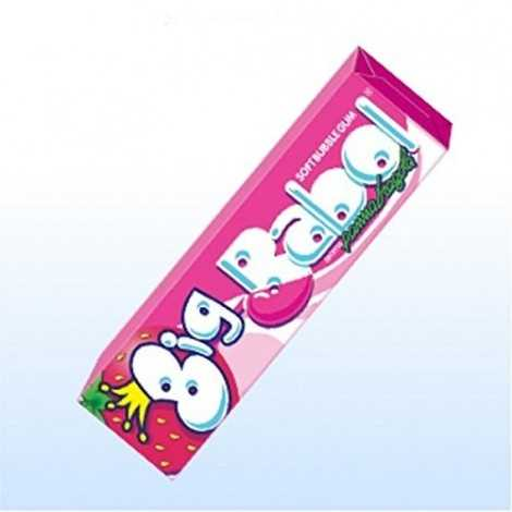 BIG BABOL PANNA E FRAGOLA STICK pz 24