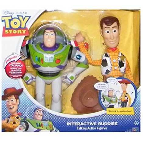 Toy Story 3 Interactive Buddies Buzz e Woody Personaggi interattivi