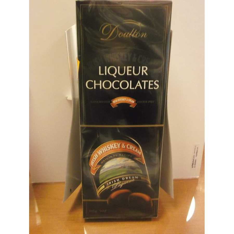 CIOCCOLATINI LIQUER IRISH WHISKEY & CREAM LIQUORE 145G DOULTON