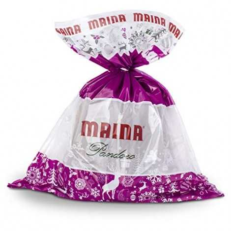 PANDORO MAINA CLASSICO 700 GR IN BUSTA CELLOPHANE NATALE NO BOX SOFFICE