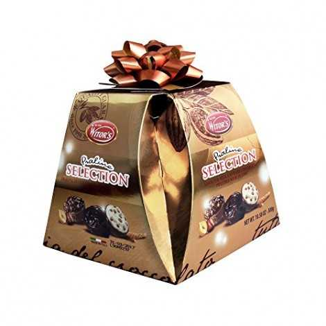 CONFEZIONE REGALO WITOR'S PIRAMIDE SELECTION PRALINE CIOCCOLATO ASSORTITE 300 GR
