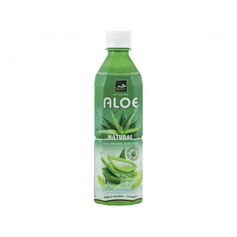 20 bottiglie x Tropical - Bevanda Analcolica, con Aloe Vera - 500 ml x 20