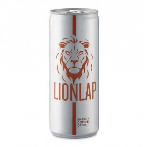 LIONLAP ENERGY COFFEE DRINK CON DA 250 ml .