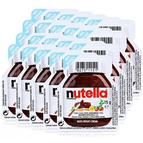 20 Nutella - 20 x 15g serving