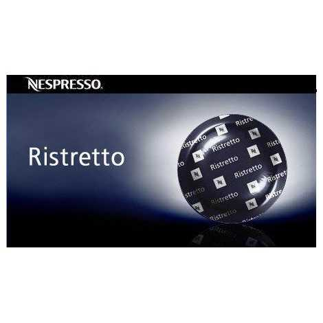 50 Nespresso Ristretto Coffee Capsules Pro NEW (for Gemini , Zenius , Aguila Coffee Machines)
