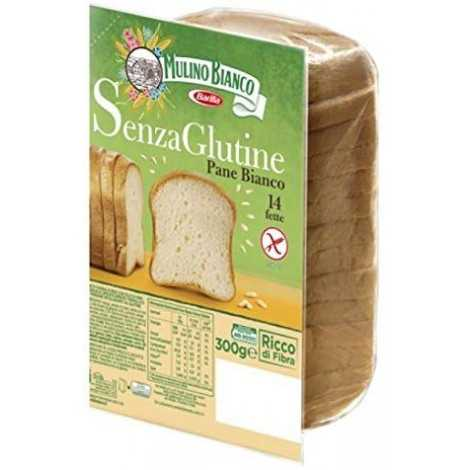 Barilla mulino Bianco White Bread for sandwiches Toast 250 G glutine Free. Health Food.