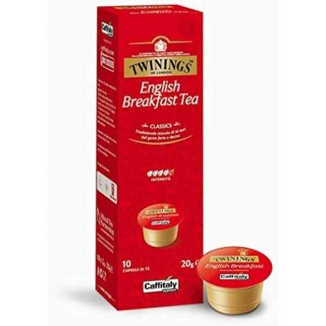 English Breakfast Tea Twinings Capsule Caffitaly