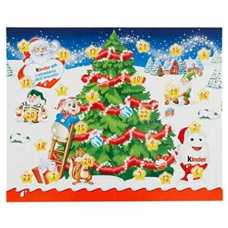 Kinder Mix Tavolo-Calendario dell'Avvento 127g