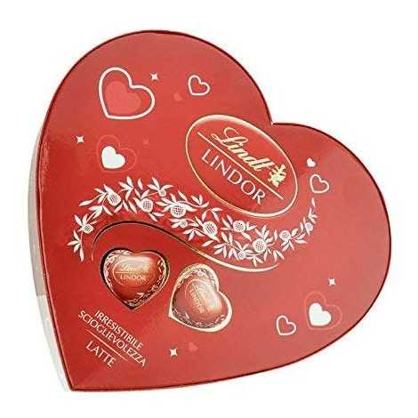 LINDT SCATOLA CUORE 110gr 853320