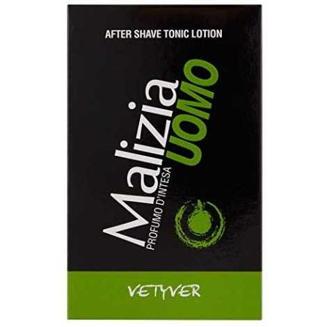 MALIZIA UOMO AFTER SHAVE TONIC LOTION VETYVER 100 ML DOPOBARBA