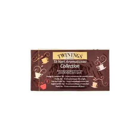Twinings Collection - Tè Neri Aromatizzati (20 Bustine in 5 Varietà)