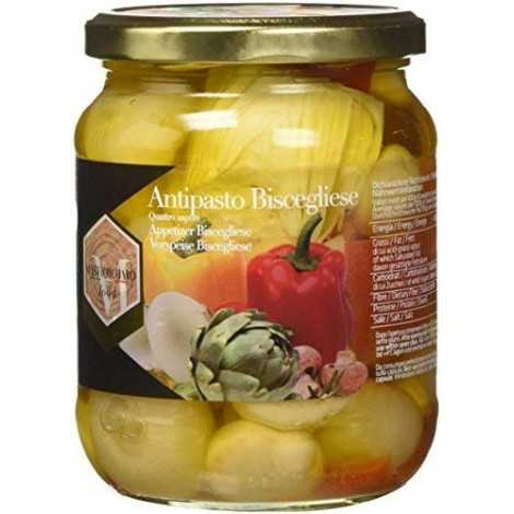 Mastrototaro Food Antipasto Biscegliese - 580 ml