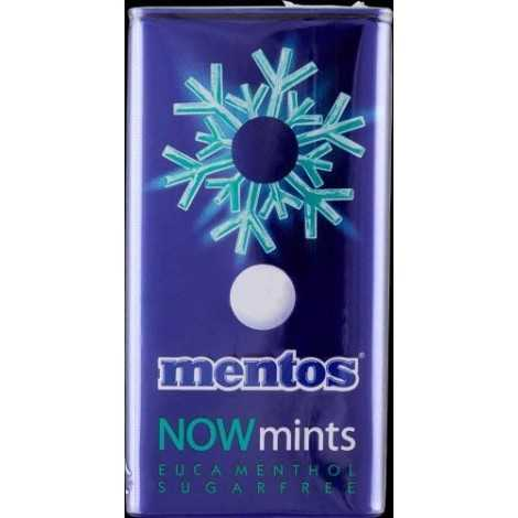 MENTOS NOW MINTS MENTA FORTE pz 12