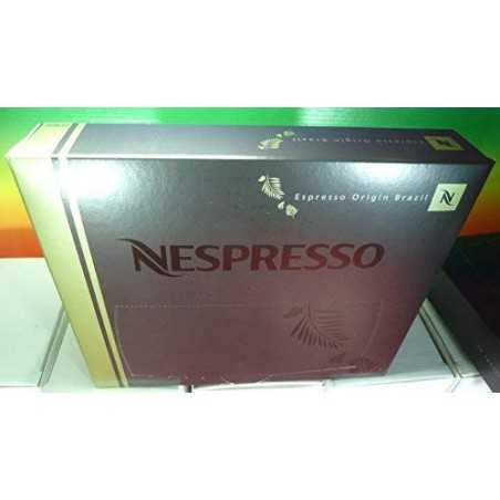 Nespresso Espresso Origin Brazil PRO COFFEE 50 Capsules (for Gemini, Zenius, Aguila Coffee Machines) New