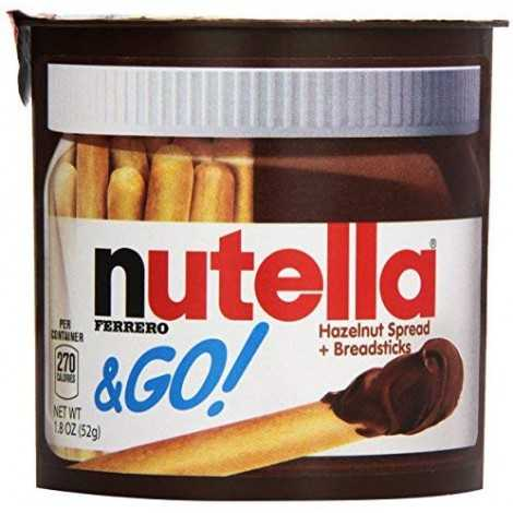 Nutella & Go,1.8 oz, 24 Count