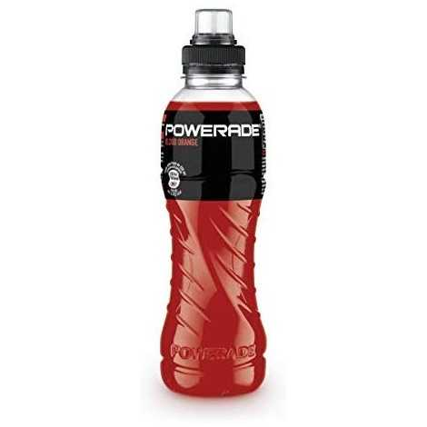 Powerade - Blood Orange Bebida para deportistas, 500 ml - [paquete de 3]