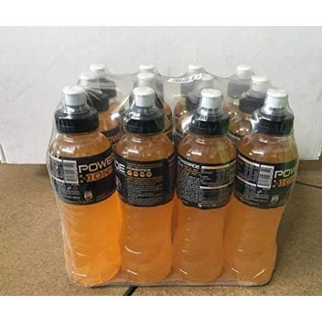 Powerade ORANGE Arancia 0,50 LT x 12 bott. tappo sport