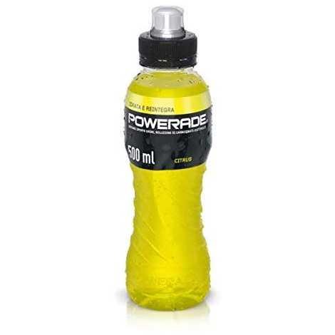 Powerade Sport Drink Citrus Gusto Limone 500 ml - bottiglia PET riciclabile
