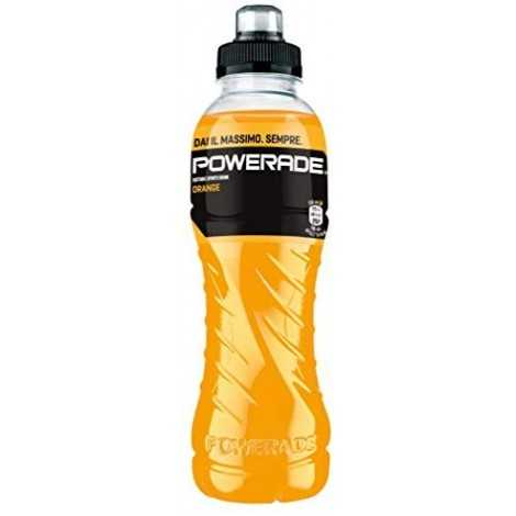 Powerade Sport Drink Orange Gusto Arancia 500 ml - bottiglia PET riciclabile