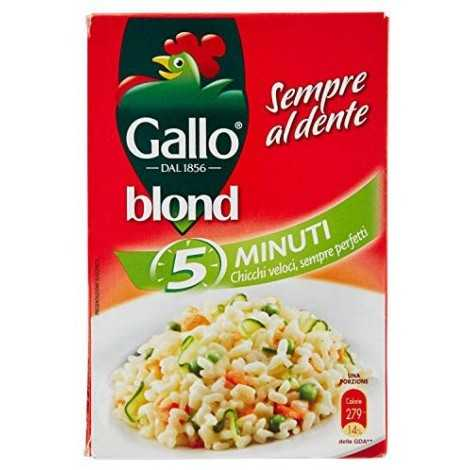 Riso Gallo Blond 5 Minuti - 500 gr