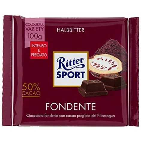 Ritter Fondente 50% Cacao Gr.100